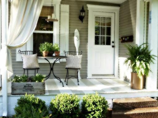 ide model teras rumah sederhana yang simpel dan elegan