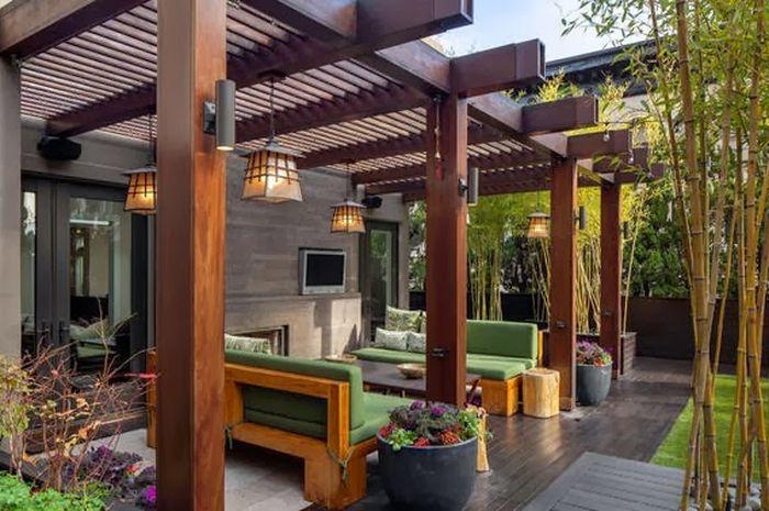 lantai teras pada model teras rumah sederhana