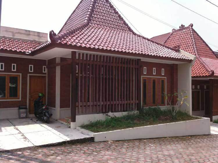 rumah joglo modern asri