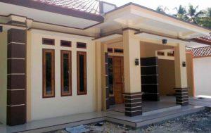 warna cat teras rumah pada model teras rumah sederhana
